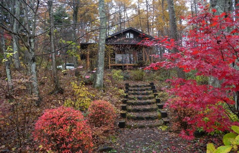 四季の風景に寄り添う山の家