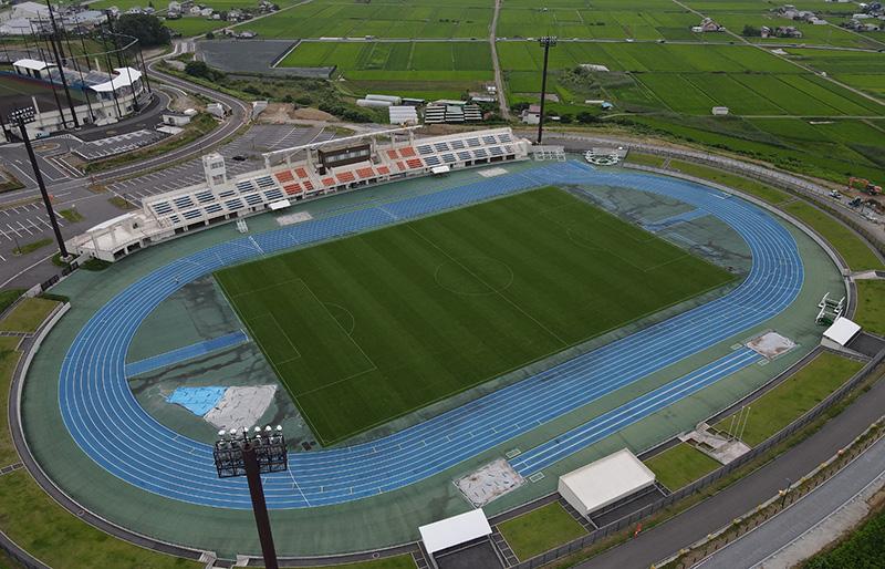 佐久運動公園陸上競技場