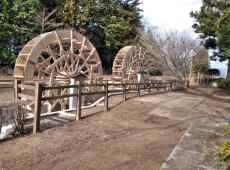 日光杉並木公園の水車